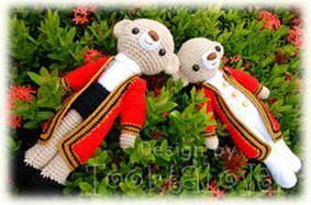 ตุ๊กตาหมีรับปริญญาพระจอม