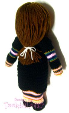 ตุ๊กตาถักไหมพรมรับปริญญาราชภัฎนครปฐม