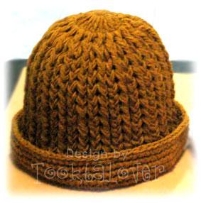 หมวกถักไหมพรม