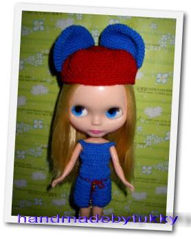 ชุดตุ๊กตาบลายธ์ถักไหมพรม